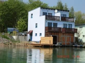 Ferienhaus Ferienhaus Seepferdchen - Sachsen  Burgenland und Heideland Kahnsdorf - Wasseransicht