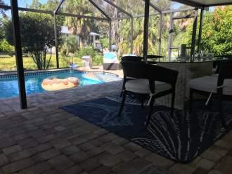 Ferienhaus Haus im Florida Stil am G.v. Mexico - Florida  Cape-Coral Bonita Springs -