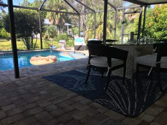 Haus im Florida Stil am G.v. Mexico - Ferienhaus in Bonita Springs - am Pool