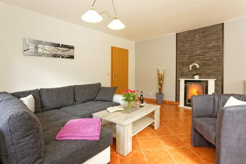 Bad 1 mit Sauna und Dusche