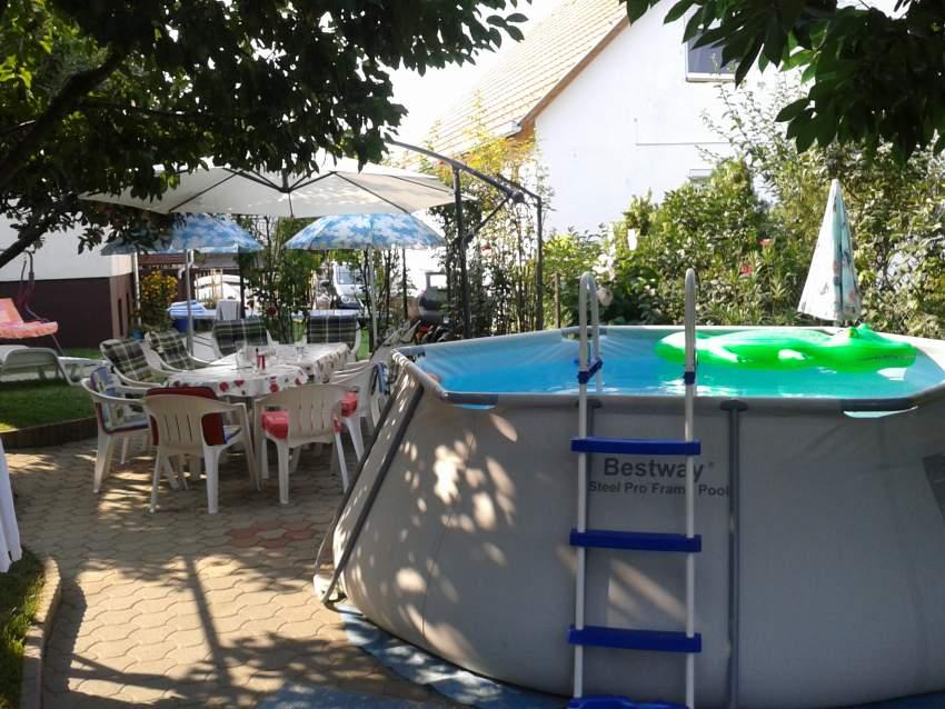 Pool in der Hof