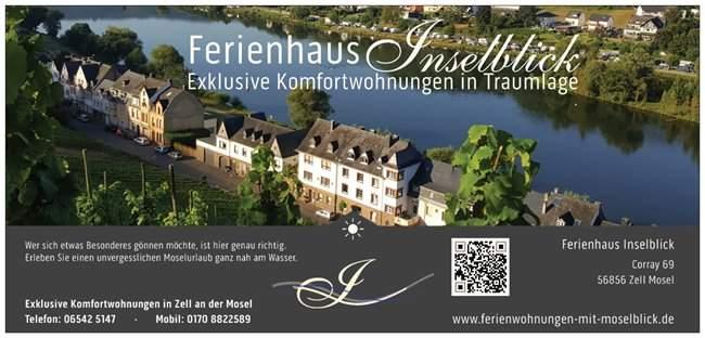 Luxus Ferienhaus Inselblick in Zell an der Mosel