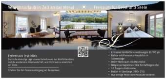 Luxus Ferienhaus Inselblick Ferienwohnung  - Bild 2