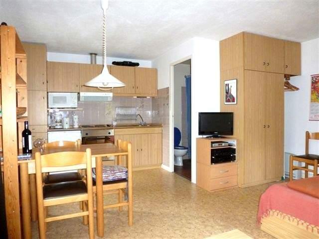 Studio Wohnraum und Küche