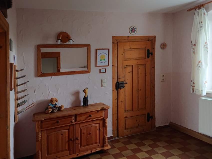 Der Eingangs- / Garderobenbereich
