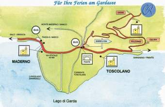 Cabiana Residence Ferienwohnung  Gardasee - Lago di Garda - Bild 7