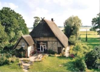 Ferienwohnung Bauernhaus Pauli - Brandenburg  Prignitz Unbesandten - Bauernhaus direkt an der Elbe