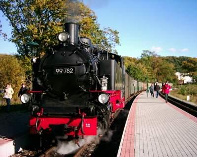 Bahnhof des Rasenden Rolands