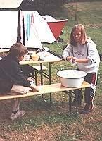 Familiencamp im Elbsandstein Campingplatz  - Bild 4