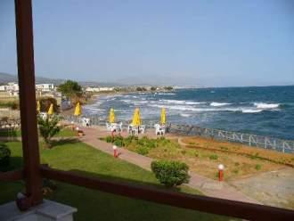 am Strand von Chrisi Amo - Ferienwohnung in  Rethymnon Strand -