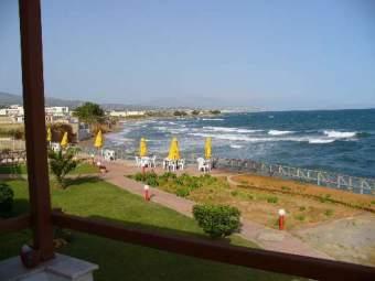 am Strand von Chrisi Amo Ferienwohnung  Kreta - Bild 3